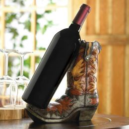 Southwestern Cowboy Boot Wine Bottle Holder