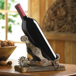 Southwestern Cowboy Spur Wine Bottle Holder