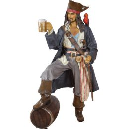 Pirate with a Glass of Rum