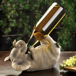 Tipsy Elephant Wine Bottle Holder