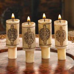 Wine Cork Candle Set-Wine Fragrance