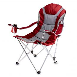 Polyester Canvas Reclining Camp Chair