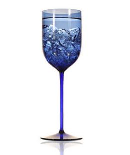 Ravenscroft Cobalt Blue Long Stem Water (Set of 4)