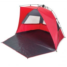 Haven Sunlight & Wind Shelter (Color: Red)