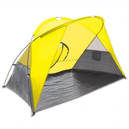 Picnic Time Cove Sun & Wind Shelter (Color: Yellow)