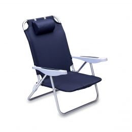 Monaco Beach Folding Chair (Color: Blue)