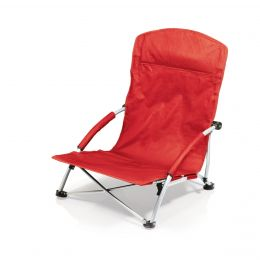 Tranquility Portable Beach Chair (Color: Red)