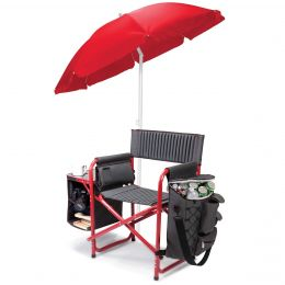 Polyester Canvas Fusion Chair (Color: Red)